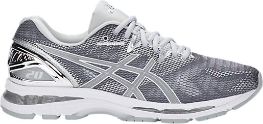 GEL-Nimbus 20 Platinum Carbon/Silver/White 3 RT