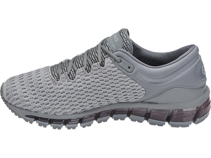 Left side view of GEL-QUANTUM 360 SHIFT MX, MID GREY/STONE GREY/STONE GREY