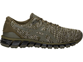 Right side view of GEL-QUANTUM 360 KNIT 2, DARK OLIVE/DARK OLIVE