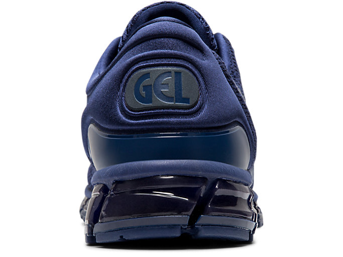 Back view of GEL-QUANTUM 360 KNIT 2, INDIGO BLUE/INDIGO BLUE