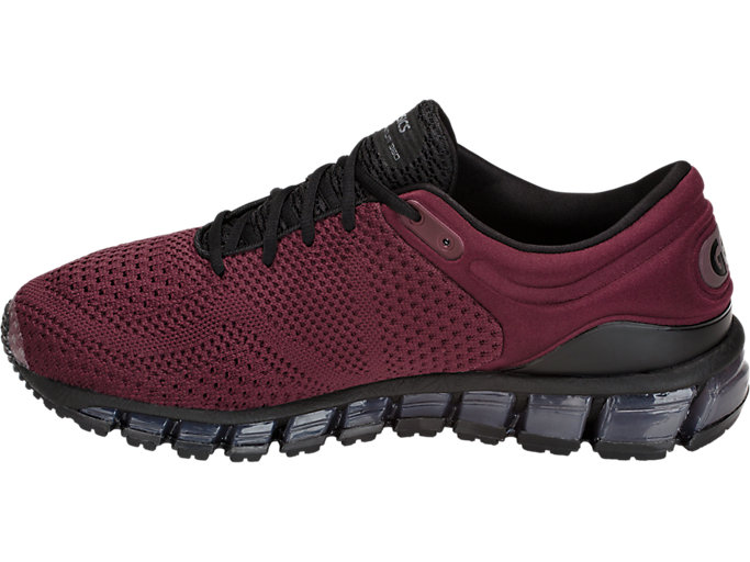 Left side view of GEL-QUANTUM 360 KNIT 2, PORT ROYAL/BLACK