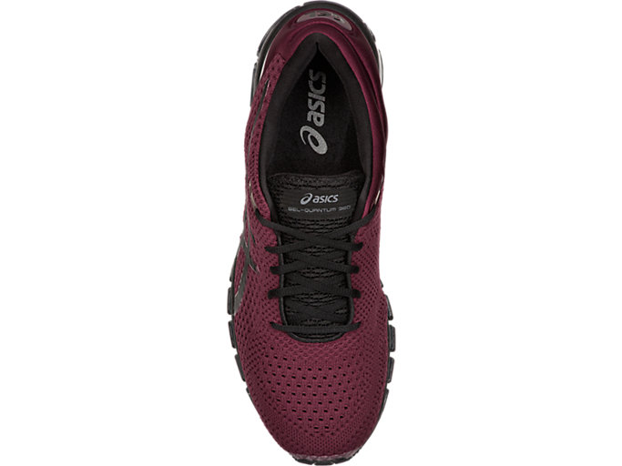 Top view of GEL-QUANTUM 360 KNIT 2, PORT ROYAL/BLACK