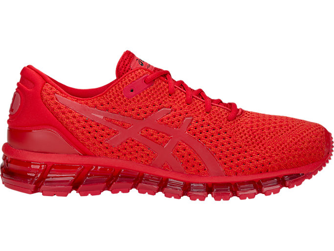 Right side view of GEL-QUANTUM 360 KNIT 2, CLASSIC RED/CLASSIC RED