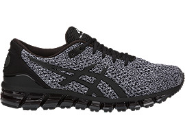 GEL-QUANTUM 360 KNIT 2, Black/White/Black