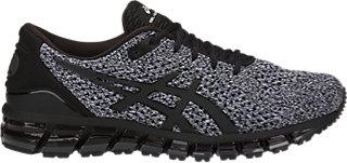 ASICS GEL-QUANTUM 360 KNIT 2 - Neutral running shoes - black/white