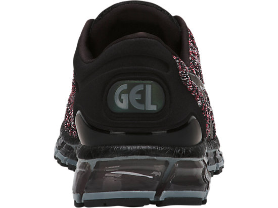 GEL-QUANTUM 360 KNIT 2 BLACK/CLASSIC RED/STONE GREY