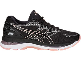GEL-NIMBUS 20, BLACK/FROSTED ROSE