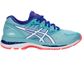 GEL-NIMBUS 20, Porcelain Blue/White/Asics Blue