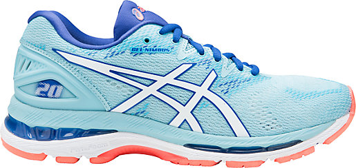 GEL-Nimbus 20 Porcelain Blue/White/ASICS Blue 3 RT