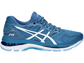 GEL-NIMBUS 20, AZURE/WHITE