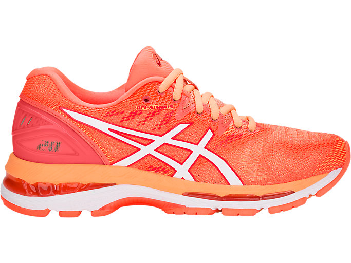 Women's GEL-NIMBUS 20 | FLASH CORAL/WHITE | Running | ASICS ...