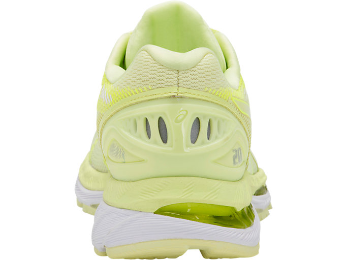 Back view of GEL-NIMBUS 20, LIMELIGHT/LIMELIGHT/SAFETY YELLOW