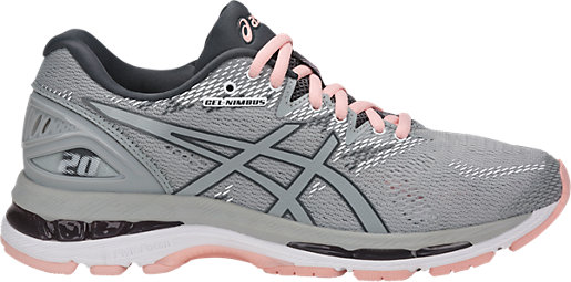 GEL-Nimbus 20 Mid Grey/Mid Grey/Seashell Pink 3 RT