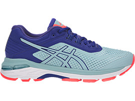 Right side view of GT-2000 6, PORCELAIN BLUE/PORCELAIN BLUE/ASICS BLUE