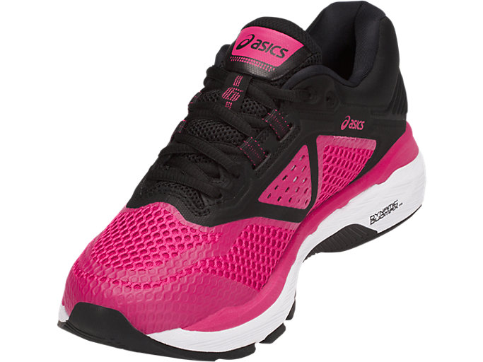 Front Left view of GT-2000 6, BRIGHT ROSE/BLACK/WHITE