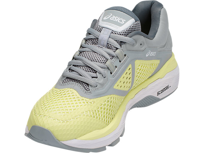 Front Left view of GT-2000 6, LIMELIGHT/WHITE/MID GREY