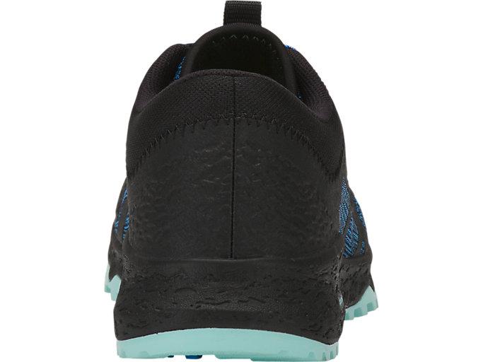 Back view of ALPINE XT, BLUE COAST/BLACK