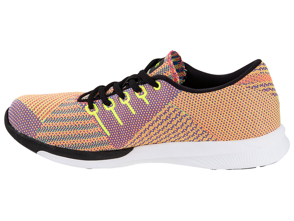 fuzeX KNIT WOMENS:FLASH CORAL/BLACK/SAFETY YELLOW