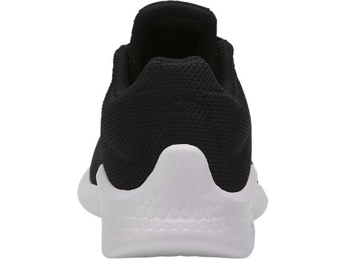 Back view of COMUTORA, BLACK/BLACK/WHITE