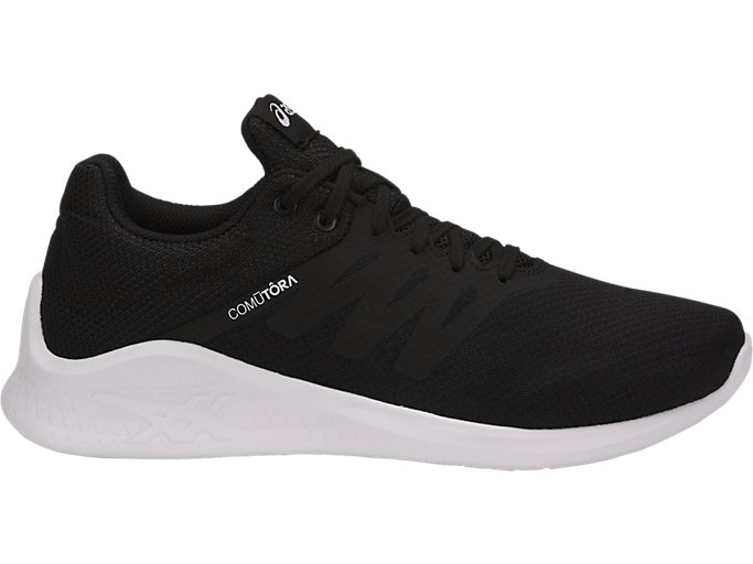 Right side view of COMUTORA, BLACK/BLACK/WHITE