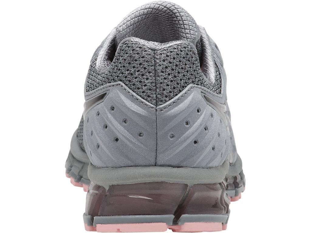 ASICS Gel Quantum 180 2 MX Shoe Women's Running Stone GreyCarbonSeashell Pink