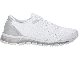Right side view of GEL-QUANTUM 360 KNIT 2, WHITE/WHITE