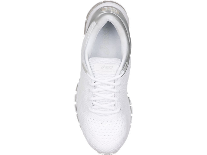 Top view of GEL-QUANTUM 360 KNIT 2, WHITE/WHITE