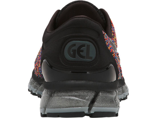 GEL-QUANTUM 360 KNIT 2 BLACK/RAINBOW MULTI/BLACK