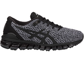 Right side view of GEL-QUANTUM 360 KNIT 2, BLACK/WHITE/BLACK