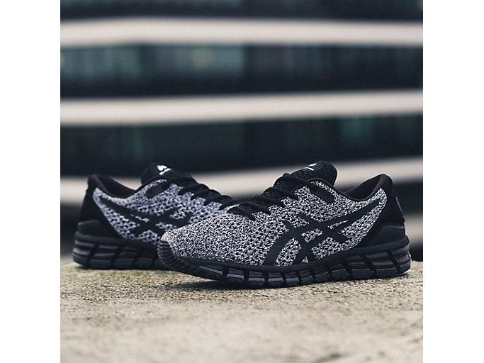 Alternative image view of GEL-QUANTUM 360 KNIT 2, BLACK/WHITE/BLACK