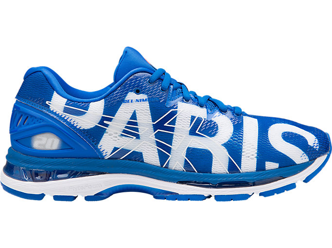 Homme Running – Asics GEL NIMBUS 20 PARIS MARATHON PARIS2018BLUE Asics Chaussures, Running