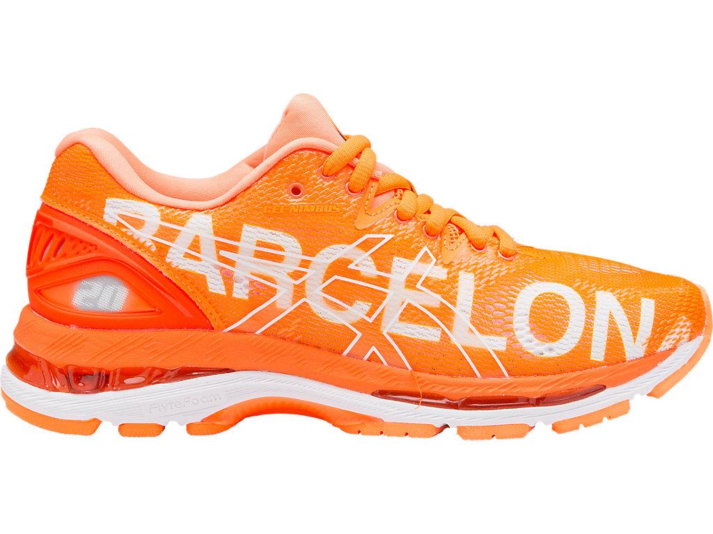 Asics Gel-Nimbus 20 Barcelona Marathon, Zapatillas de Running para Hombre, Naranja (Barcelona/2018/Orange 3030), 42.5 EU
