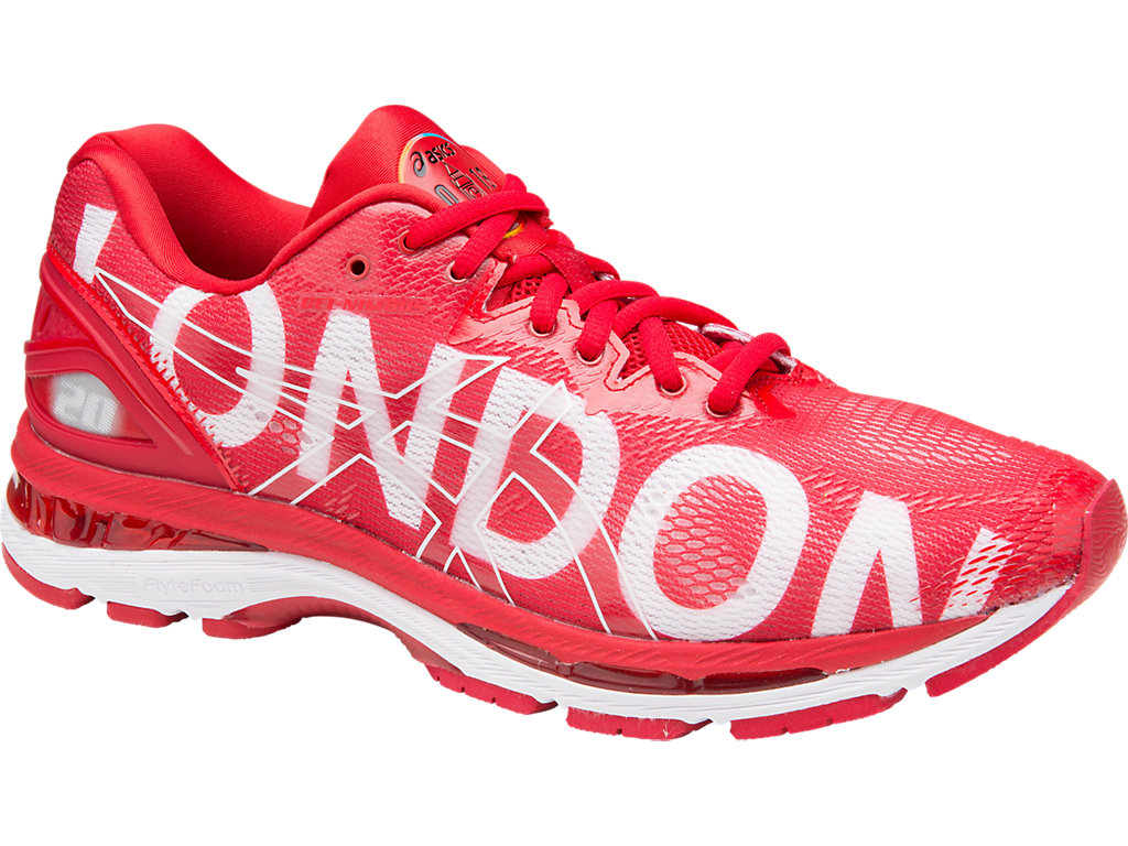 GEL NIMBUS 20 LONDON Chaussures de running neutres london2018red
