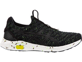 HyperGEL-KENZEN MENS, BLACK/SAFETY YELLOW/CARBON