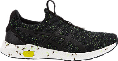 asics yellow black