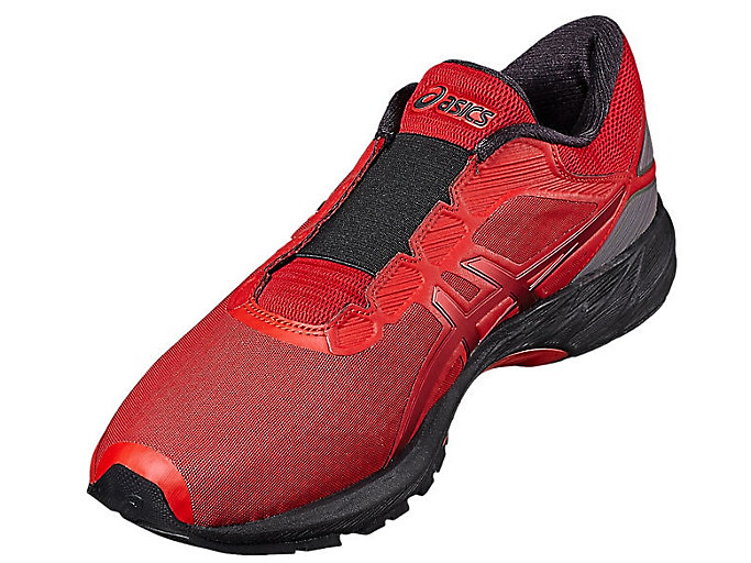 Front Left view of DynaFlyte 2 THE INCREDIBLES, CLASSIC RED/CLASSIC RED/BLACK