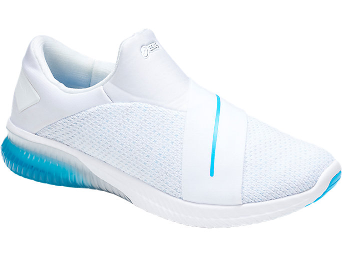 Front Right view of GEL-KENUN KNIT DISNEY• PIXAR DIE UNGLAUBLICHEN 2, WHITE/AQUARIUM/GLACIER GREY