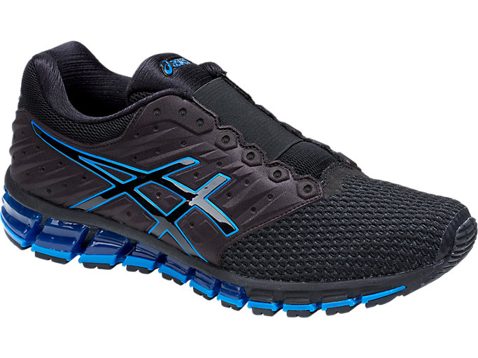 Front Right view of GEL-QUANTUM 180 2 MX DISNEY• PIXAR INCREDIBLES 2, BLACK/DIRECTOIRE BLUE/BLACK