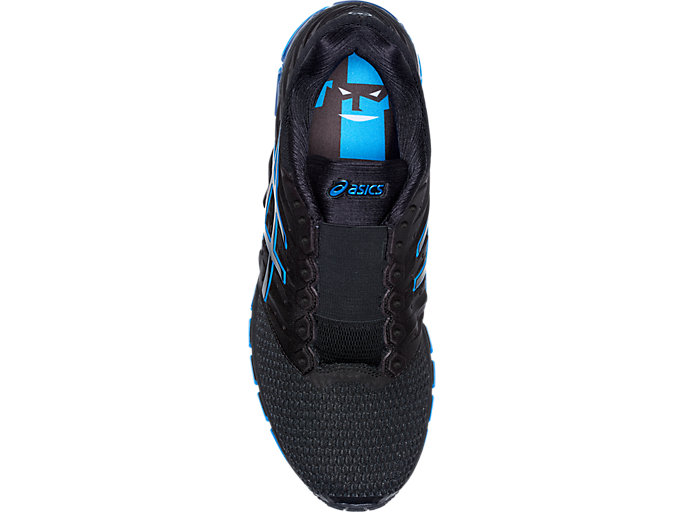 Top view of GEL-QUANTUM 180 2 MX DISNEY• PIXAR INCREDIBLES 2, BLACK/DIRECTOIRE BLUE/BLACK
