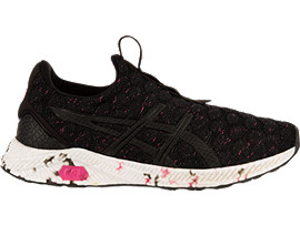 HyperGEL-KENZEN WOMENS, BLACK/HOT PINK/CARBON