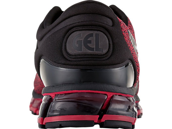 Back view of GEL-QUANTUM 360 KNIT 2, BLACK/SAMBA