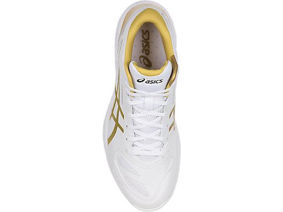 GELHOOP V 9 WHITE/GOLDEN