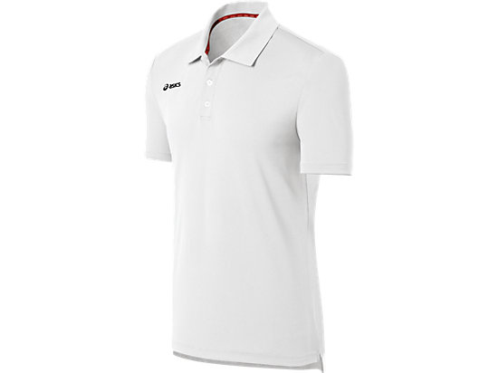 ASICS Team Performance Tennis Polo Shirt White 3