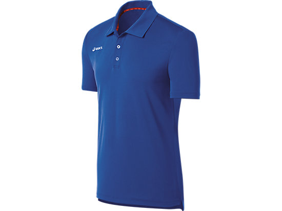ASICS Team Performance Tennis Polo Shirt Royal 3