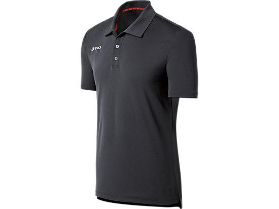 ASICS Team Performance Tennis Polo Shirt Steel Grey 3