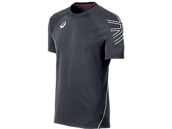 ASICS Team Performance Tennis Jersey Steel Grey/White 3