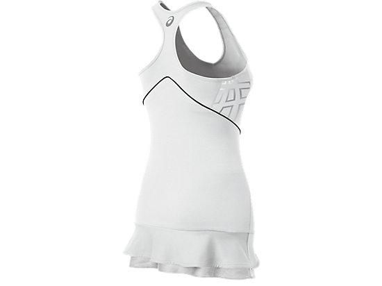 ASICS Team Performance Tennis Dress White/Black 7