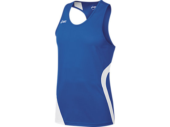 Wicked Singlet Royal/White 3