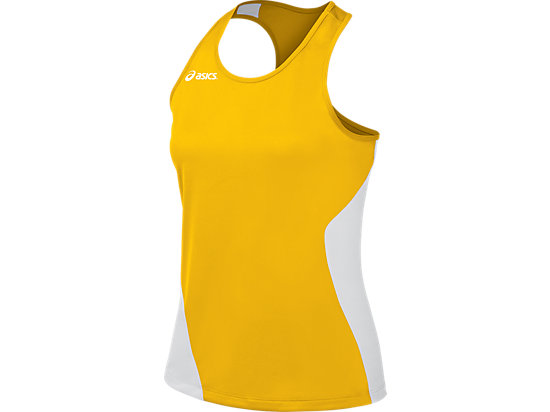 Wicked Singlet Gold/White 3