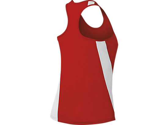 Wicked Singlet Red/White 7